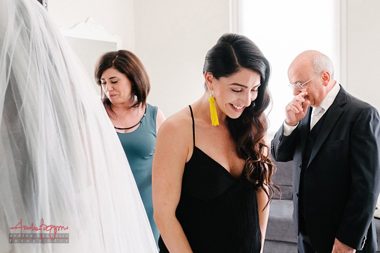emotional wedding Italy documentary photographer