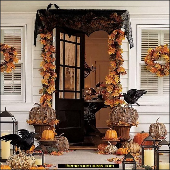 Halloween Decorations Ideas For Party.Decorating Theme Bedrooms Maries Manor Halloween