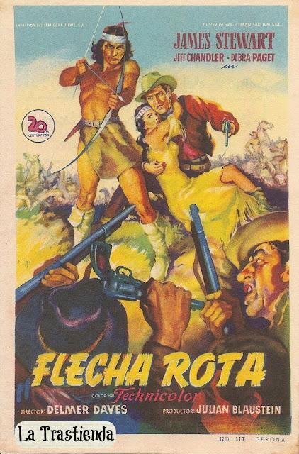 Programa de Cine - Flecha Rota - James Stewart - Debra Paget