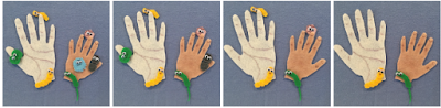 All the Little Germs, Flannel activity about hand washing