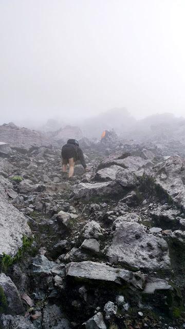 foto jalur gunung raung jawa timur