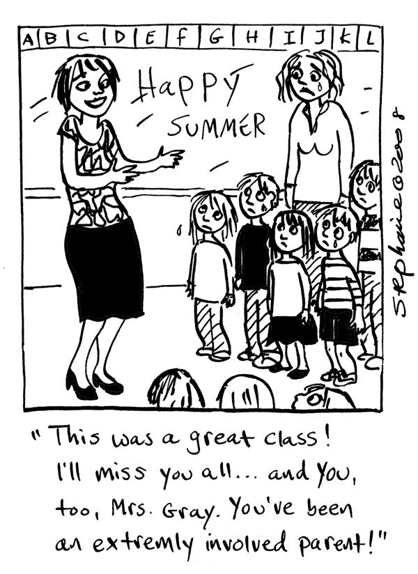 Stephanie Piro's Cartoon Blog: June 2015