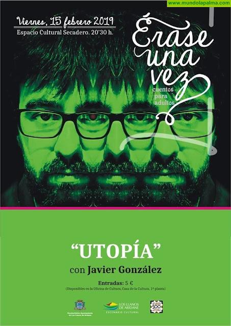 """""""Érase una vez"""": Javier González con """"Utopías, distopías y ucronías"""""""
