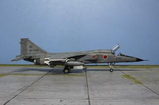 Hasegawa Mistubishi F-1 1/48.