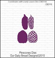 ODBD Custom Pine Cones Dies