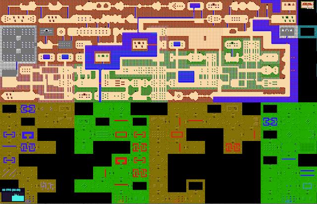 TojiCode: More GPU Tile map demos (Zelda)