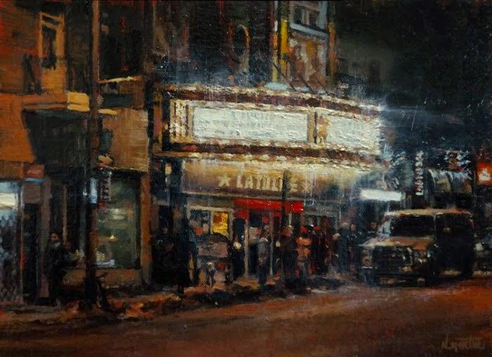 Канадский художник. Nicolas Martin