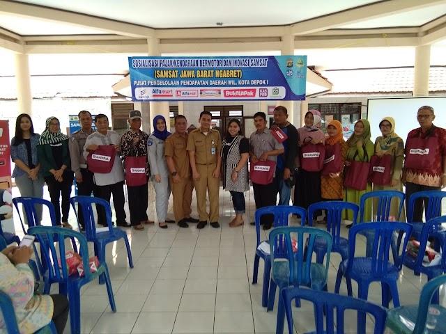 Samsat Depok Gencar Sosialisasikan Layanan Samsat J'bret