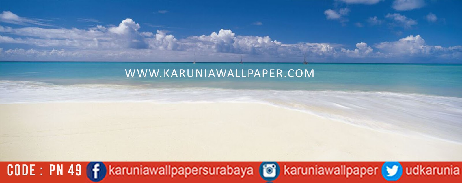 jual photowall pantai