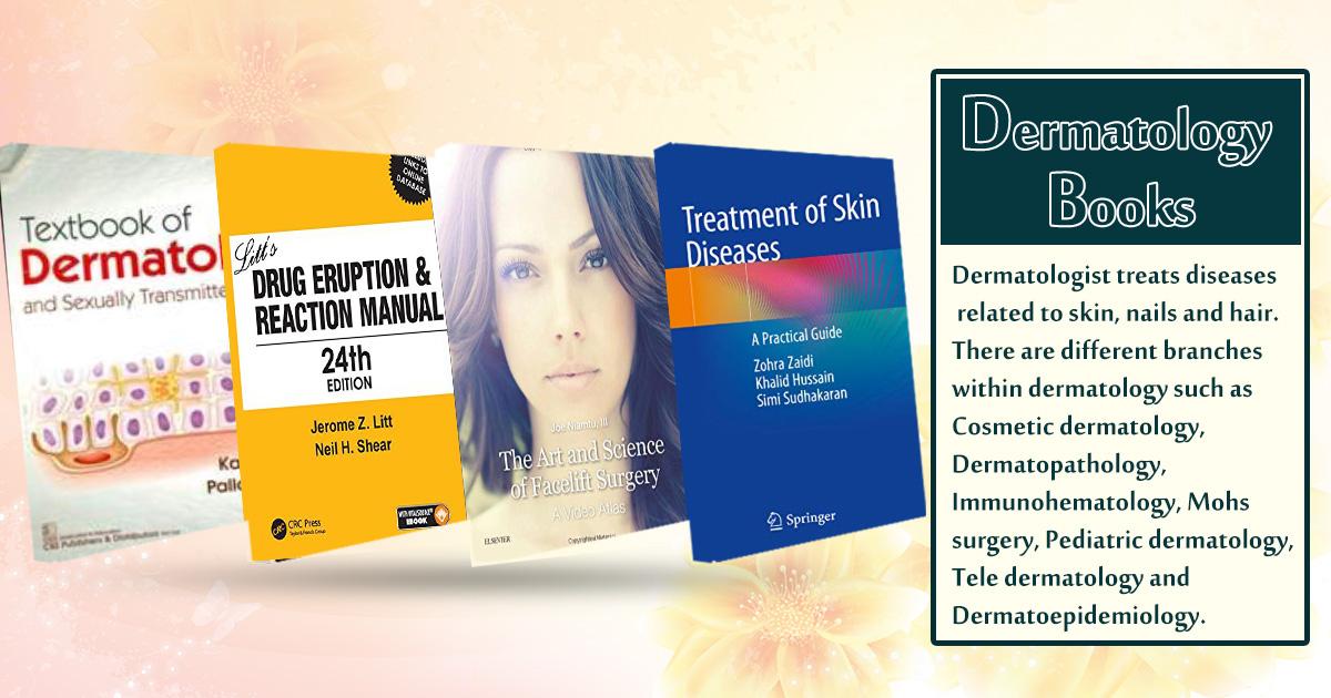 Online Book Store: Buy Dermatology Books Online