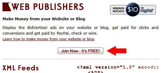 bidvertiser se online kaise kamaye
