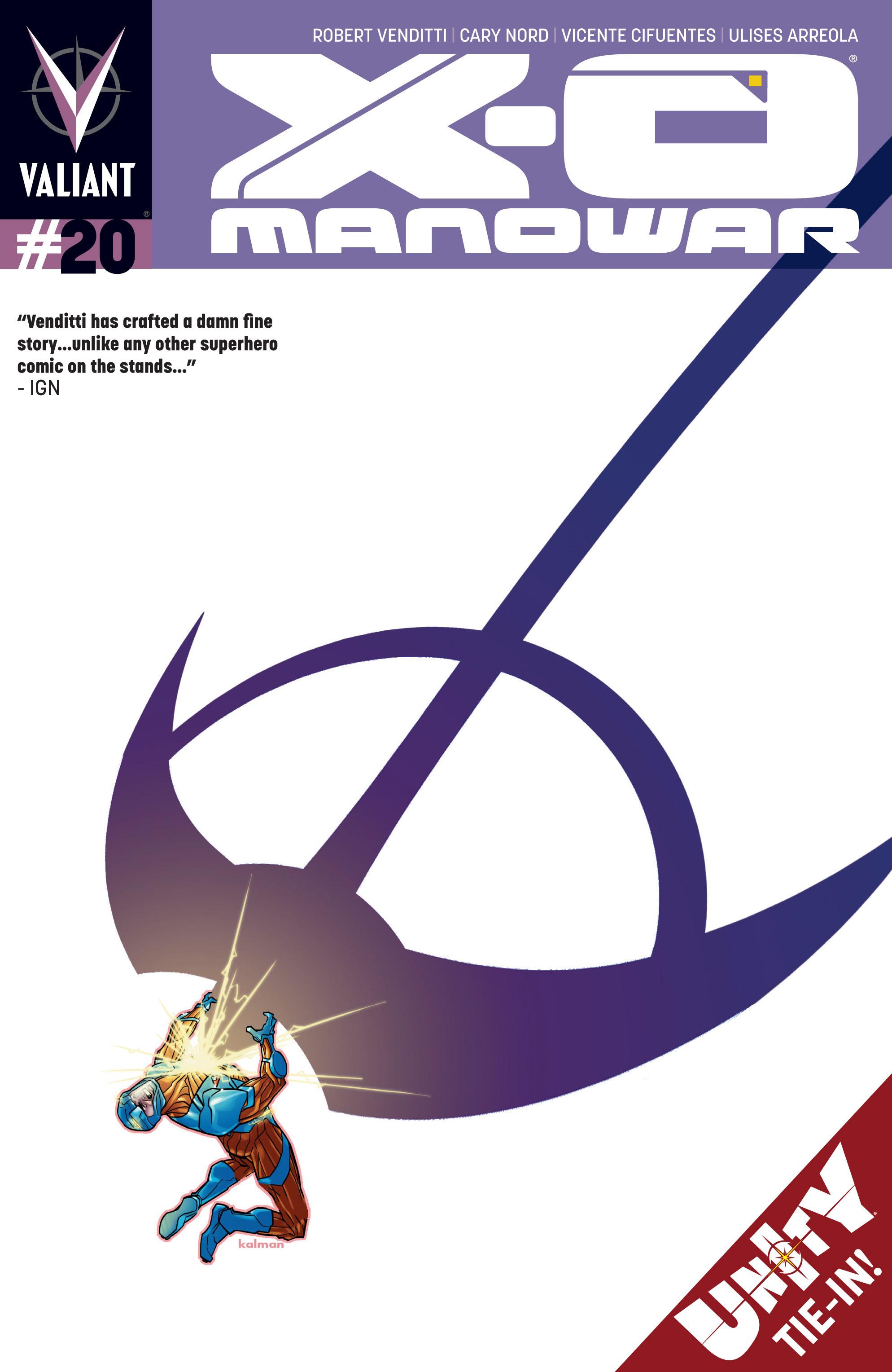 X-O Manowar (2012) 20 Page 1