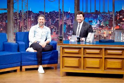 Mion e Danilo durante entrevista (Crédito: Gabriel Cardoso/SBT)