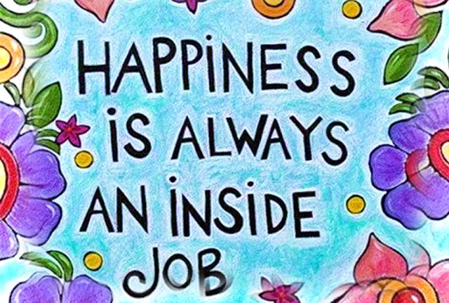 HAPPINESS INSIDE: Menemukan Bahagia didalam Diri Sendiri