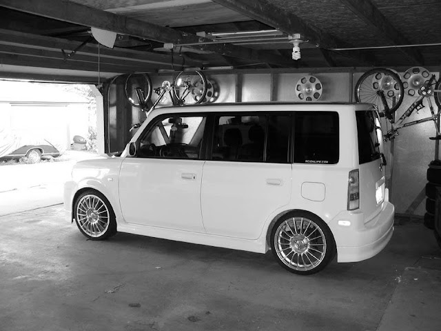 My Scion xB on 18-inch ATS wheels