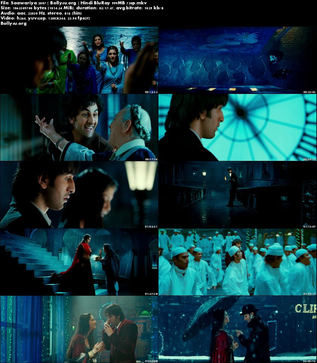 Saawariya 2007 BluRay 999MB Hindi Movie 720p Download