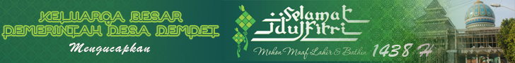 Selamat Idul Fitri 1438 H