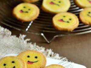 Biscuits smileys {qui tirent la langue !}