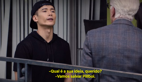 Cena de Jason na série The Good Place 3ª temporada