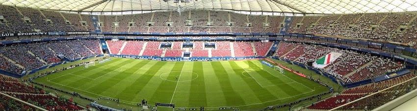 Stadion Narodowy w Warszawie w 2016 r. - fot. Tomasz Janus / sportnaukowo.pl