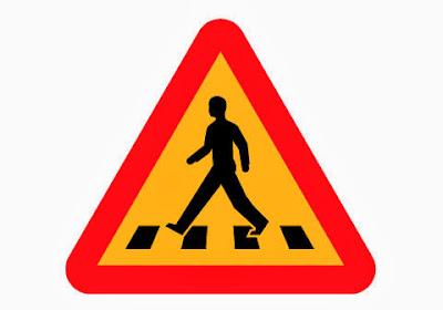Los pasos de peatones y cebras dejan muchos atropellos anualmente