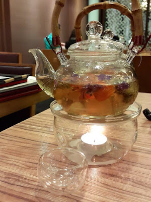 Rose Chinese Tea at Paradise Inn Marina Bay Link