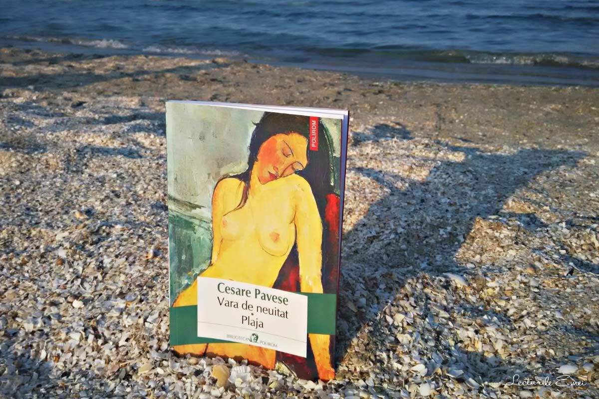 recenzie carte Vara de neuitat. Plaja de Cesare Pavese