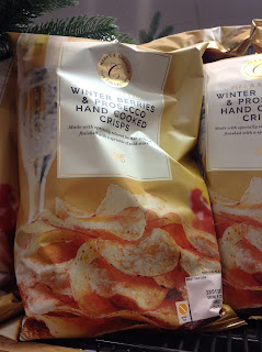 Marks & Spencer Winter Berries & Prosecco Hand Cooked Crisps