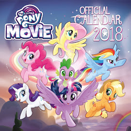 My Little Pony MLP The Movie: Official 2018 Calendar Books