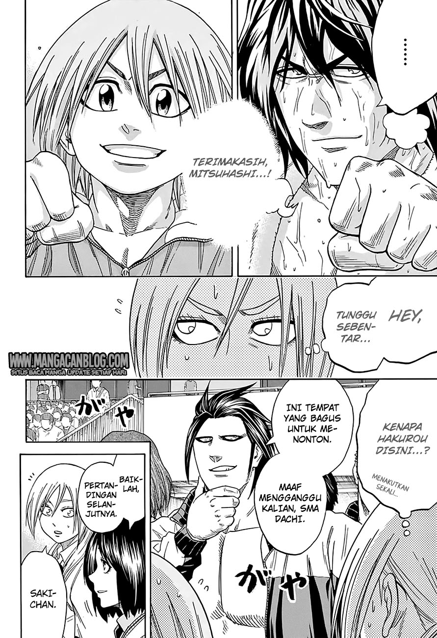 Hinomaru Zumou Chapter 140-1