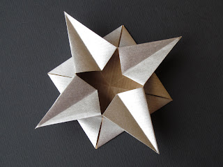 Origami Scatola a stella - Star box by Francesco Guarnieri
