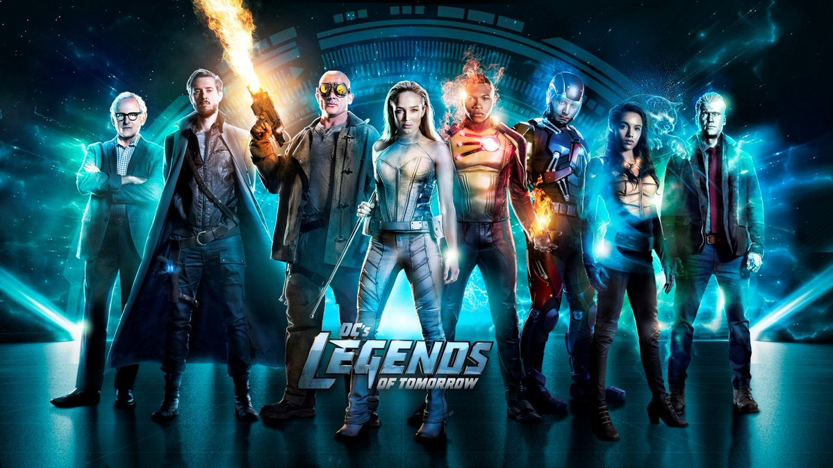 Legends of Tomorrow Poster Season 2