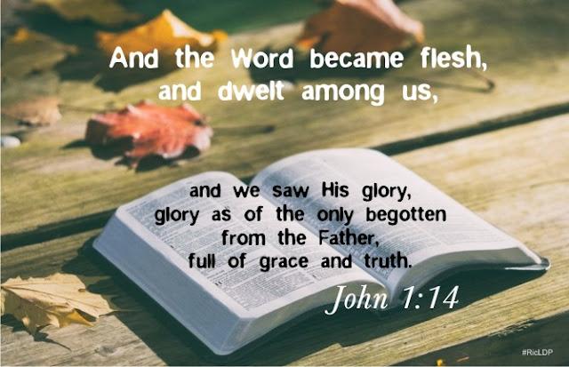 John 1:14 picture Bible verse