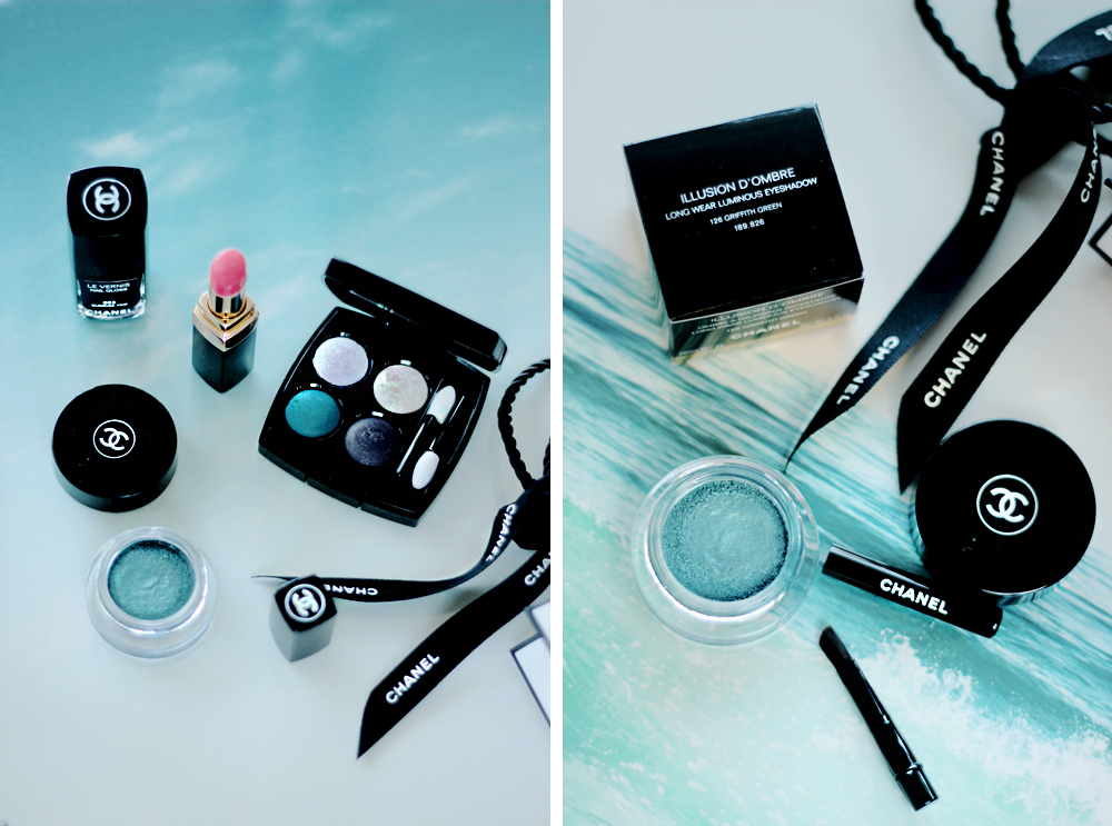 CHANEL L.A. Sunrise collection aimerose blog beauty review