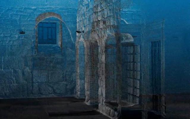 MUNDO: Arqueólogos recrearon digitalmente la sala arqueada construida en piedra de Jerusalén.