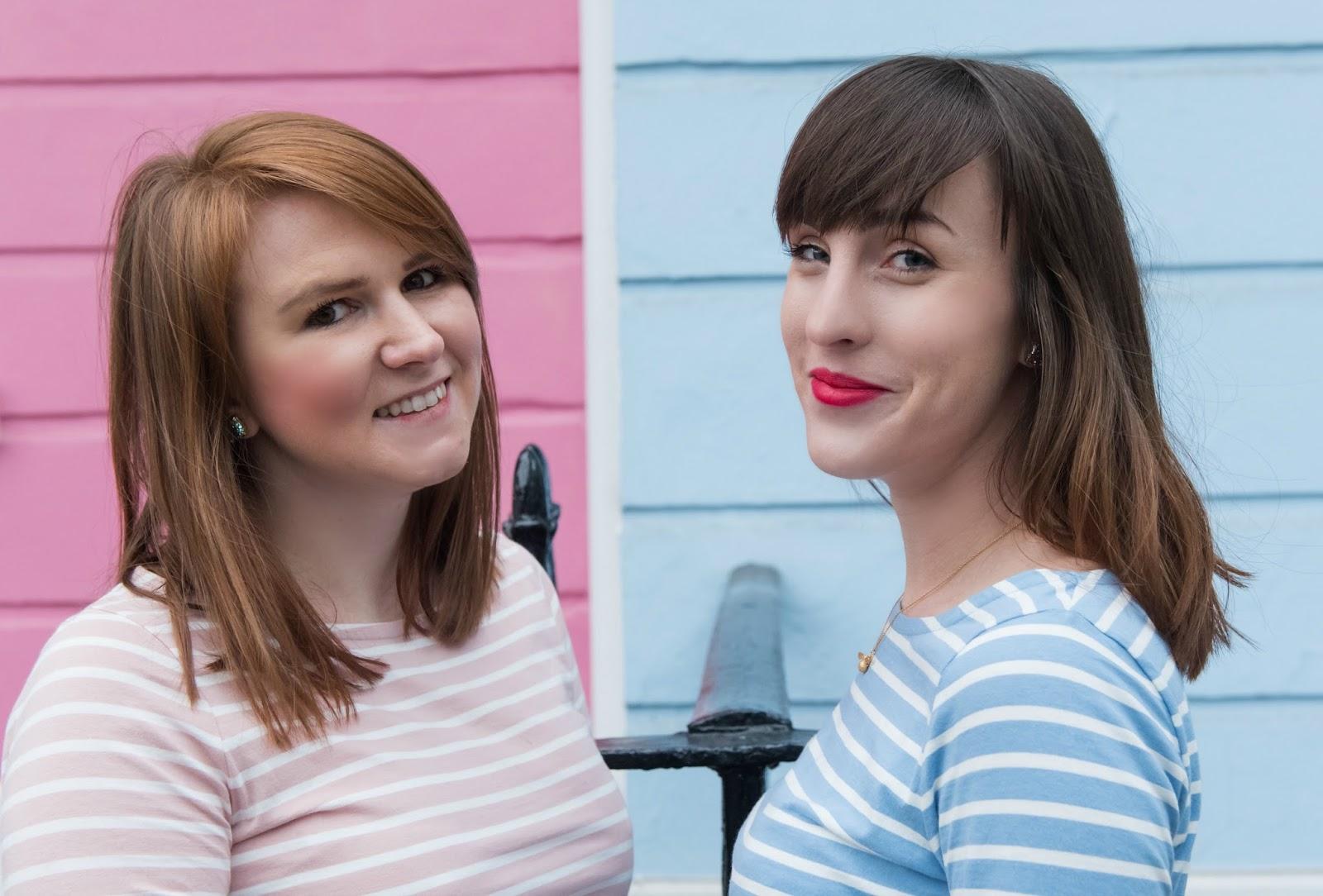 pretty posh oh my gosh blogging duo