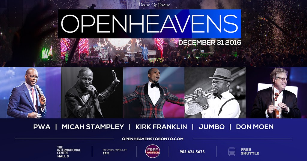 C.A. Confidential: Open Heavens with Kirk Franklin and More @ The ...
