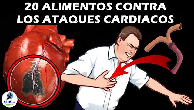 20 Alimentos Que Limpiarán Tus Arterias Naturalmente y Te Protegerán de Ataques Cardíacos