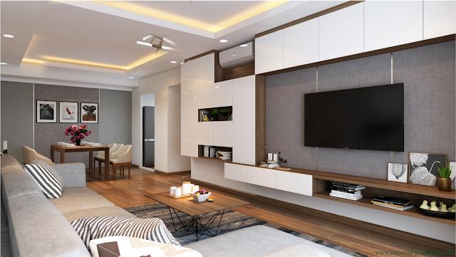 thiết kế căn hộ độc đáo tiện nghi