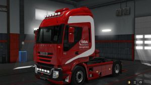 AS2 SBA Skin for Iveco Hi Way