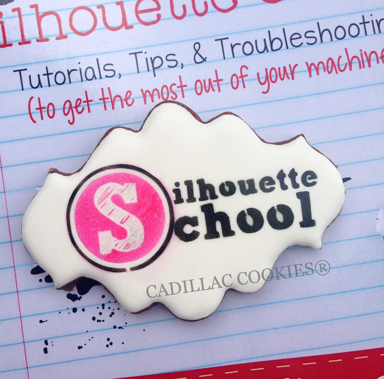 Cutting Cookie Stencils With Silhouette School Pin Circuit Die Cut Machine Cake On Pinterest Cameo Stencil Diy Do It Yourself