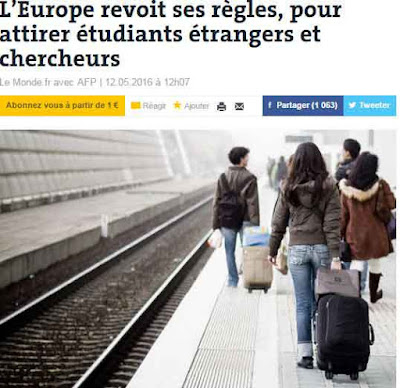 خبر سار لمن يتابعون دراستهم في أوروبا و لمن أراد الدراسة بها