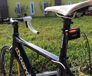 Garmin Varia RTL500 with Boardman Road Bike