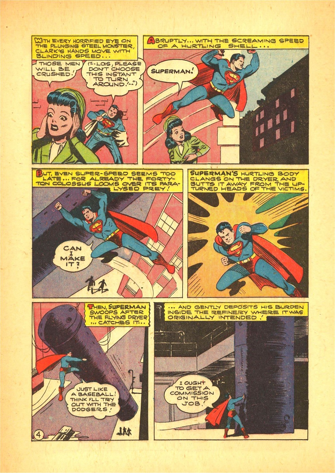 Read online Action Comics (1938) comic -  Issue #72 - 5