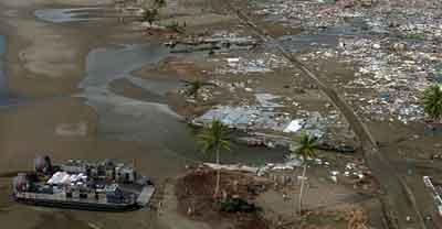 Cara menyelamatkan diri dari tsunami