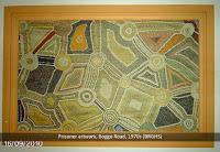 Artwork by Aboriginal prisoner, Boggo Road Gaol.