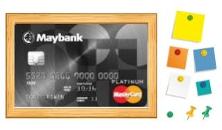 Design Kartu Kredit Maybank Platinum