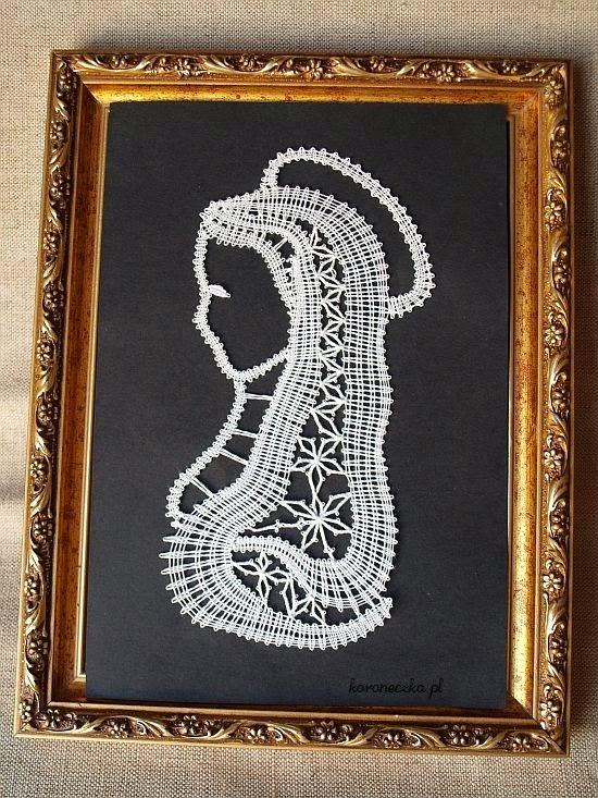Koronka klockowa, bobbins lace