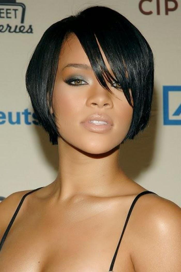Coupe de cheveux femme couleur noir