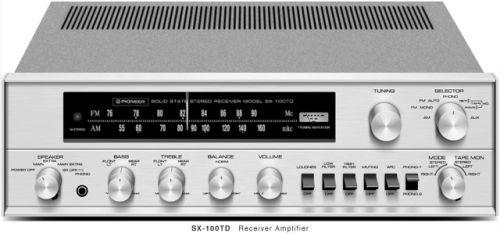 PIONEER SX-100TD (1968)